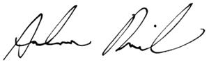 Signatur Andreas Rimkus