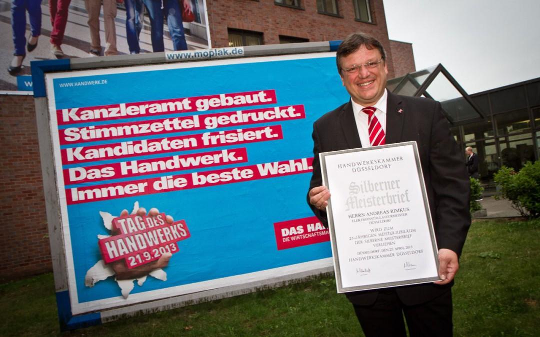 """""""Zwei Meister für Berlin"""" – Elektromeister Andreas Rimkus im Interview"""
