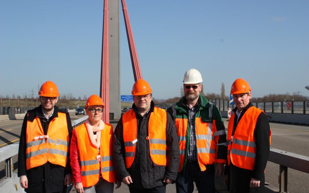 A1 und A40-Rheinbrücken: NRW bekommt Unterstützung vom Bund