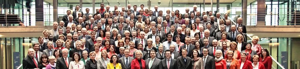 SPD Bundestagsfraktion Gruppenbild