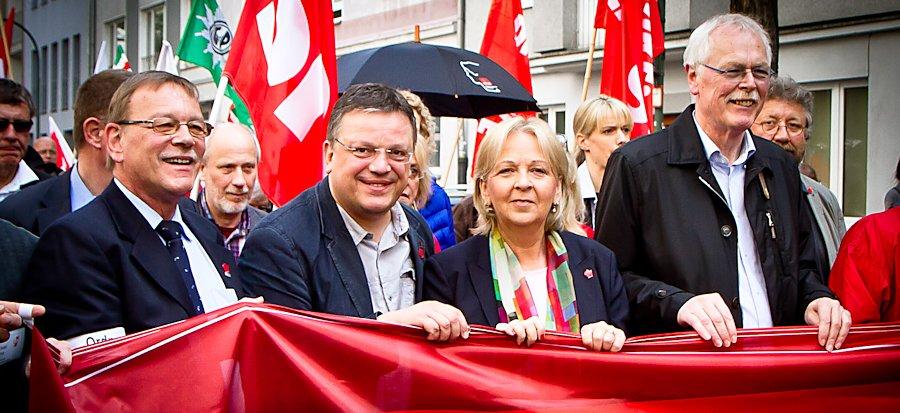 01. Mai in Düsseldorf – Tag der Arbeit