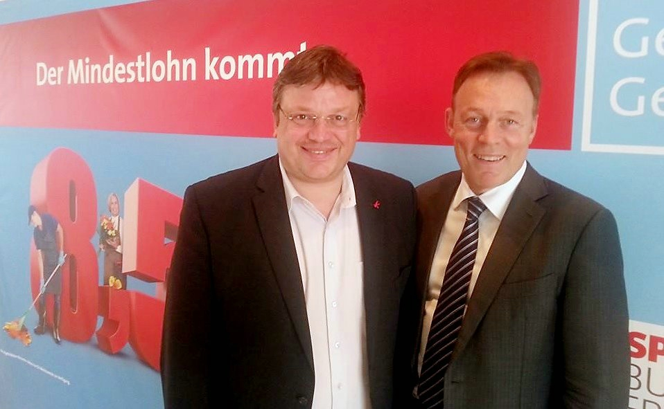 Andreas Rimkus und Thomas Oppermann (Andreas Rimkus und Thomas Oppermann)