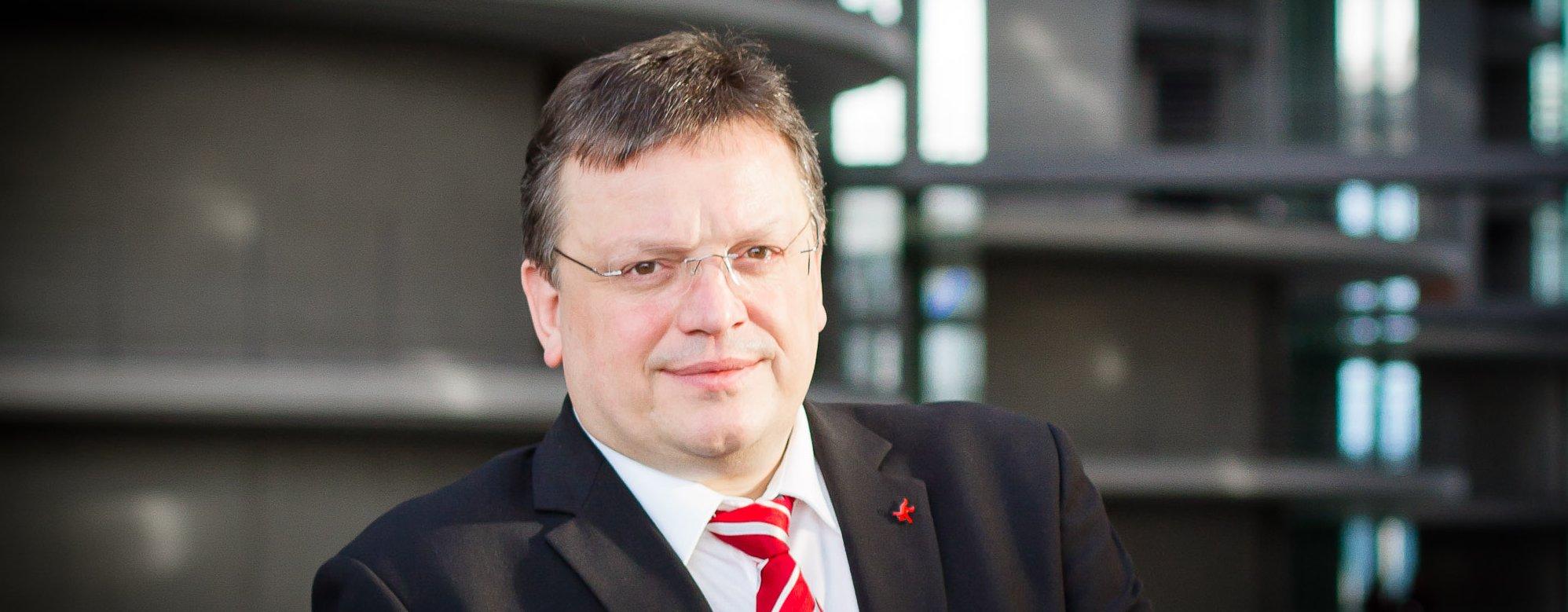 Der SPD-Bundestagsabgeordnete Andreas Rimkus positioniert sich beim Thema Sterbebegleitung