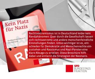 Banner Kein Platz für Nazis