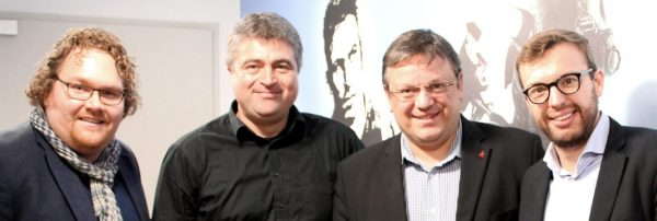 Kreativwirtschaft in Düsseldorf: Besuch von Andreas Rimkus & Philipp Tacer bei Blue Byte