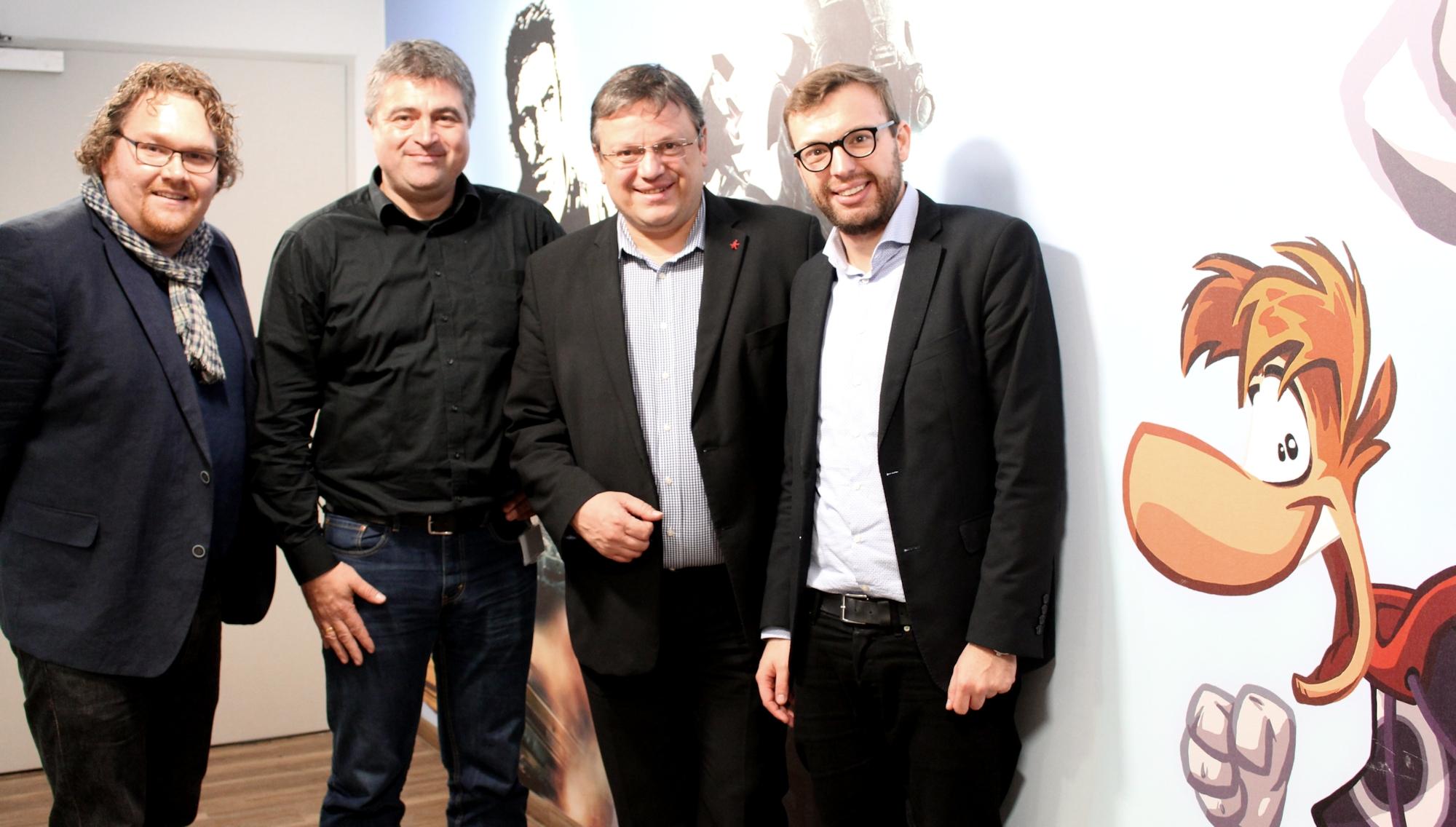 Kreativstandort Düsseldorf: Andreas Rimkus zu Besuch beim Games-Entwickler Blue Byte