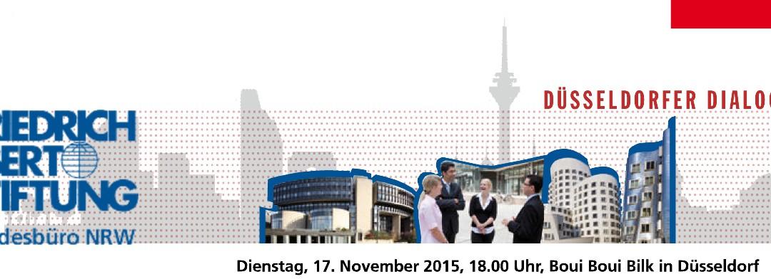 """Friedrich-Ebert-Stiftung lädt ein: """"Die Digitale Stadt der Zukunft"""" am 17.11.2015 in Düsseldorf"""