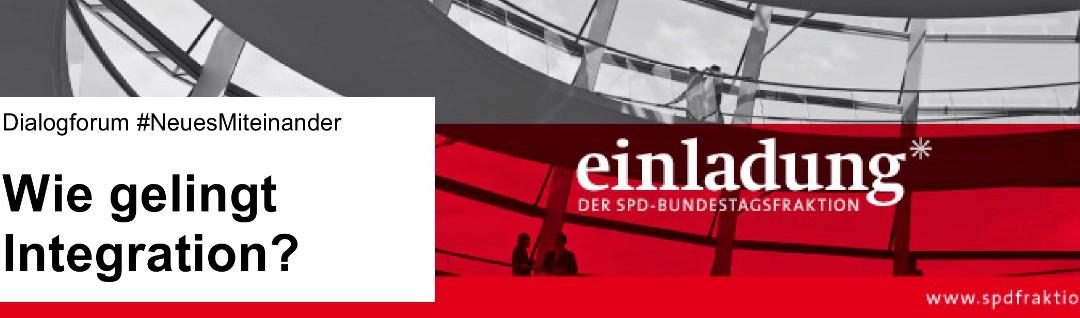 """Einladung: """"Wie gelingt Integration?"""" – Diskussionsveranstaltung in Düsseldorf Eller"""