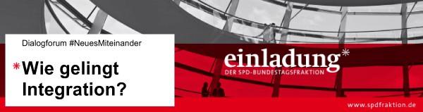 """Einladung: """"Wie gelingt Integration?"""" - Diskussionsveranstaltung in Düsseldorf Eller"""