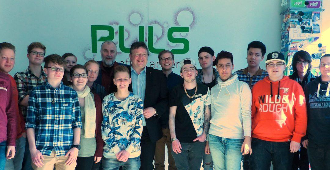 Besuch bei den Düsseldorfer PULSis zum gemeinsamen Frühstück