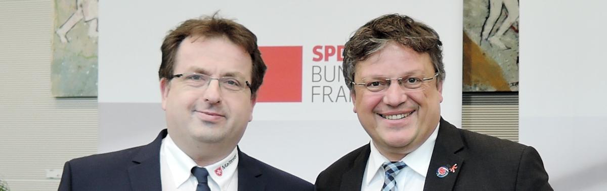 Düsseldorfer Malteser bei der Fachkonferenz der SPD-Bundestagsfraktion zur öffentlichen Sicherheit