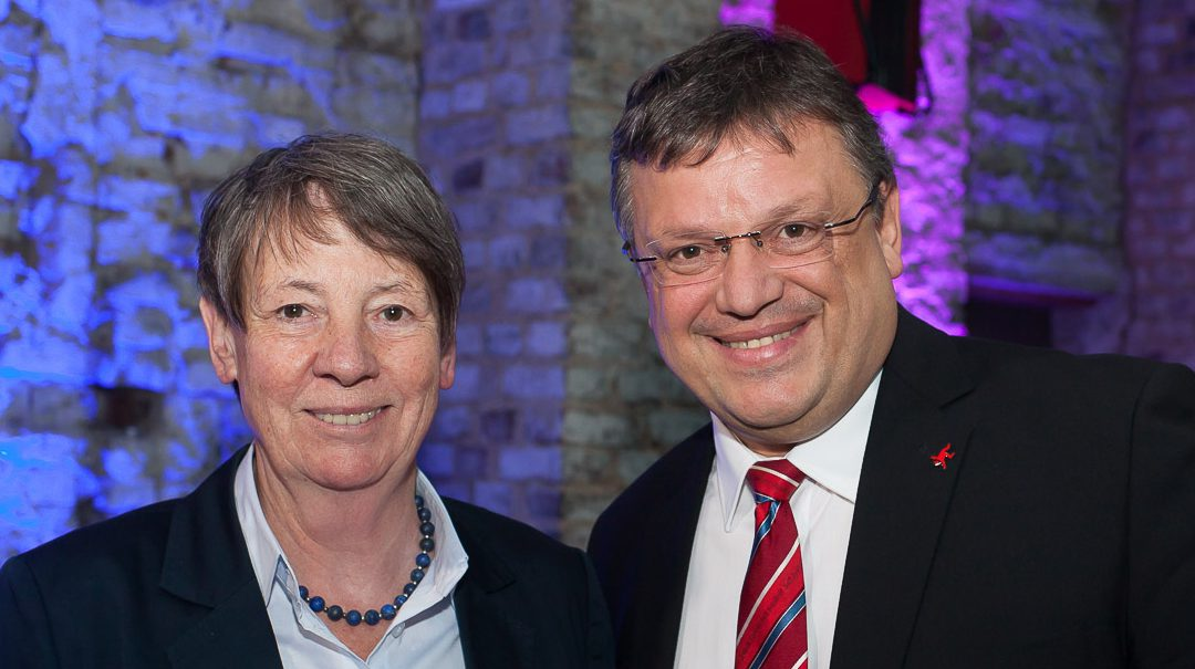 Bundesumweltministerin Barbara Hendricks zu Gast in Düsseldorf