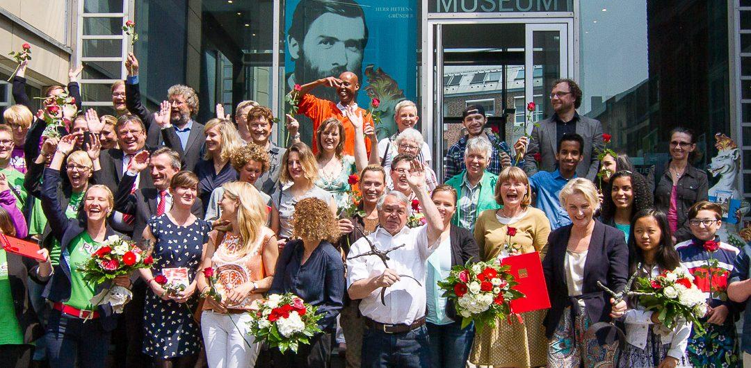 SPD-Ehrenamtspreis 2016 wurde an fünf PreisträgerInnen verliehen
