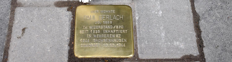 """""""Ein herausragender Demokrat"""" – AWO Düsseldorf und SPD würdigten NS-Opfer Paul Gerlach"""