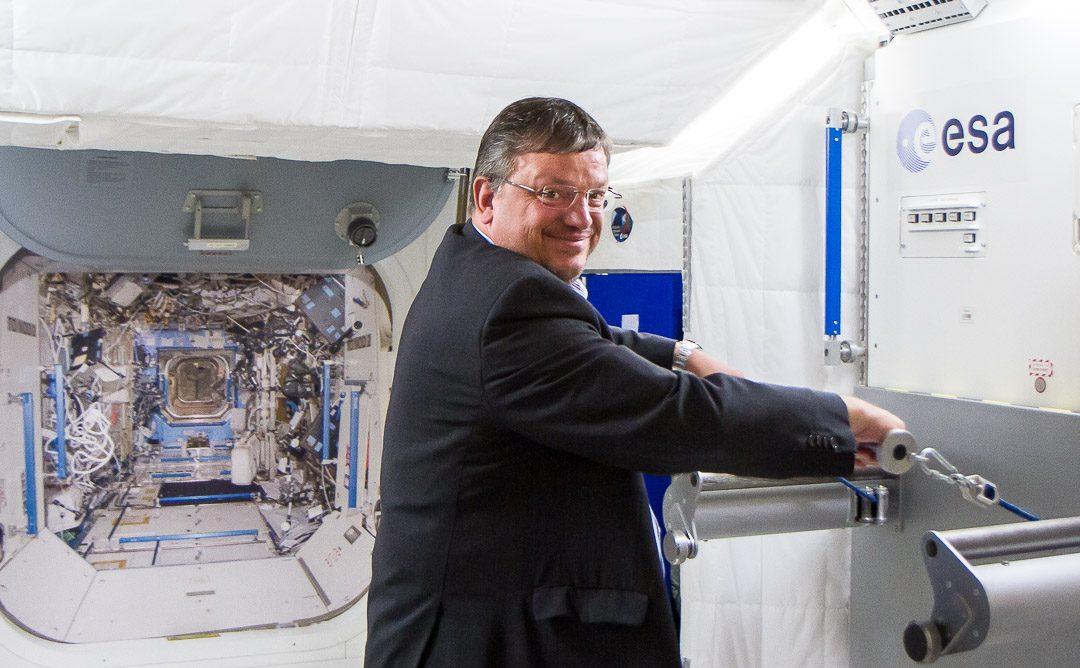 Besuch beim Deutschen Zentrum für Luft- und Raumfahrt (DLR) in Köln