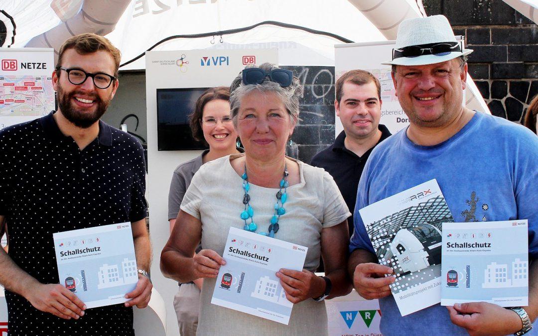 NRW feierte 70. Geburtstag und ganz Düsseldorf feierte kräftig mit
