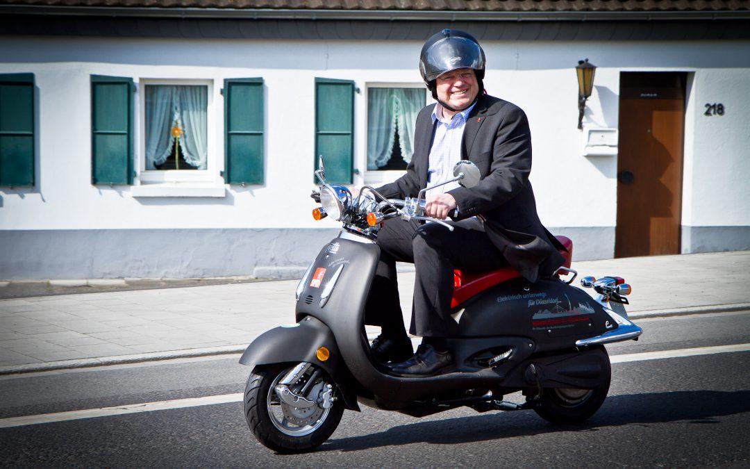 """SWR-Interview mit Andreas Rimkus: """"Elektromobilität gehört die Zukunft. Dazu zählt nicht nur die vierrädrige Mobilität, sondern auch die auf einem, zwei oder drei Rädern."""""""