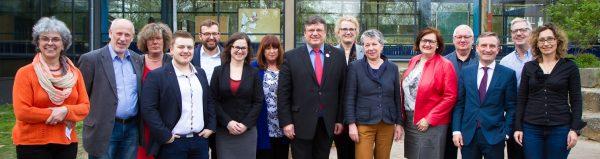 Die SPD Düsseldorf hat einen neuen Vorstand gewählt - Andreas Rimkus mit über 85 Prozent erneut zum Vorsitzenden gewählt