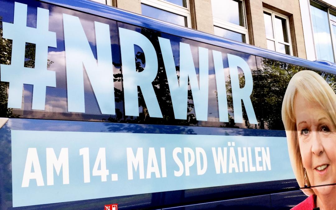Am 14. Mai wählen gehen! Beide Stimmen für die SPD und für ein starkes Düsseldorf im Landtag!
