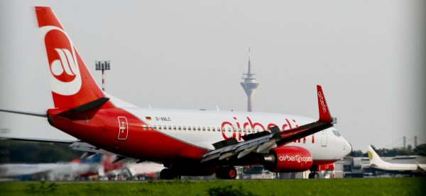 Arbeitsplätze der Air Berlin Technik in Düsseldorf müssen erhalten bleiben