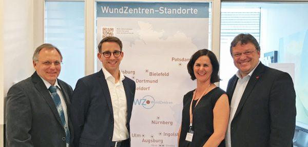 Besuch des WundZentrums Düsseldorf - professionelle Versorgung von chronischen Wunden