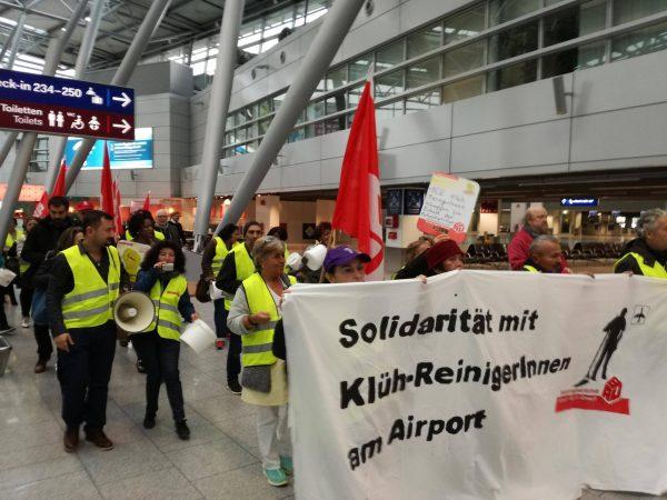 Andreas Rimkus unterstützt den Aufruf der IG BAU Düsseldorf und solidarisiert sich mit den Reinigungskräften am Düsseldorfer Flughafen