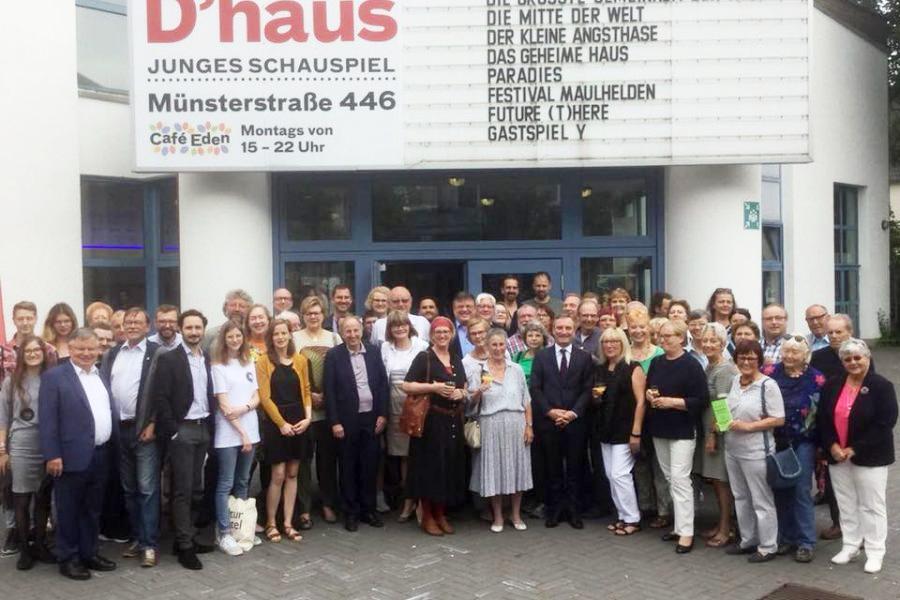 Die SPD Düsseldorf gratuliert den Preisträgerinnen und Preisträgern des Ehrenamtspreises 2018!