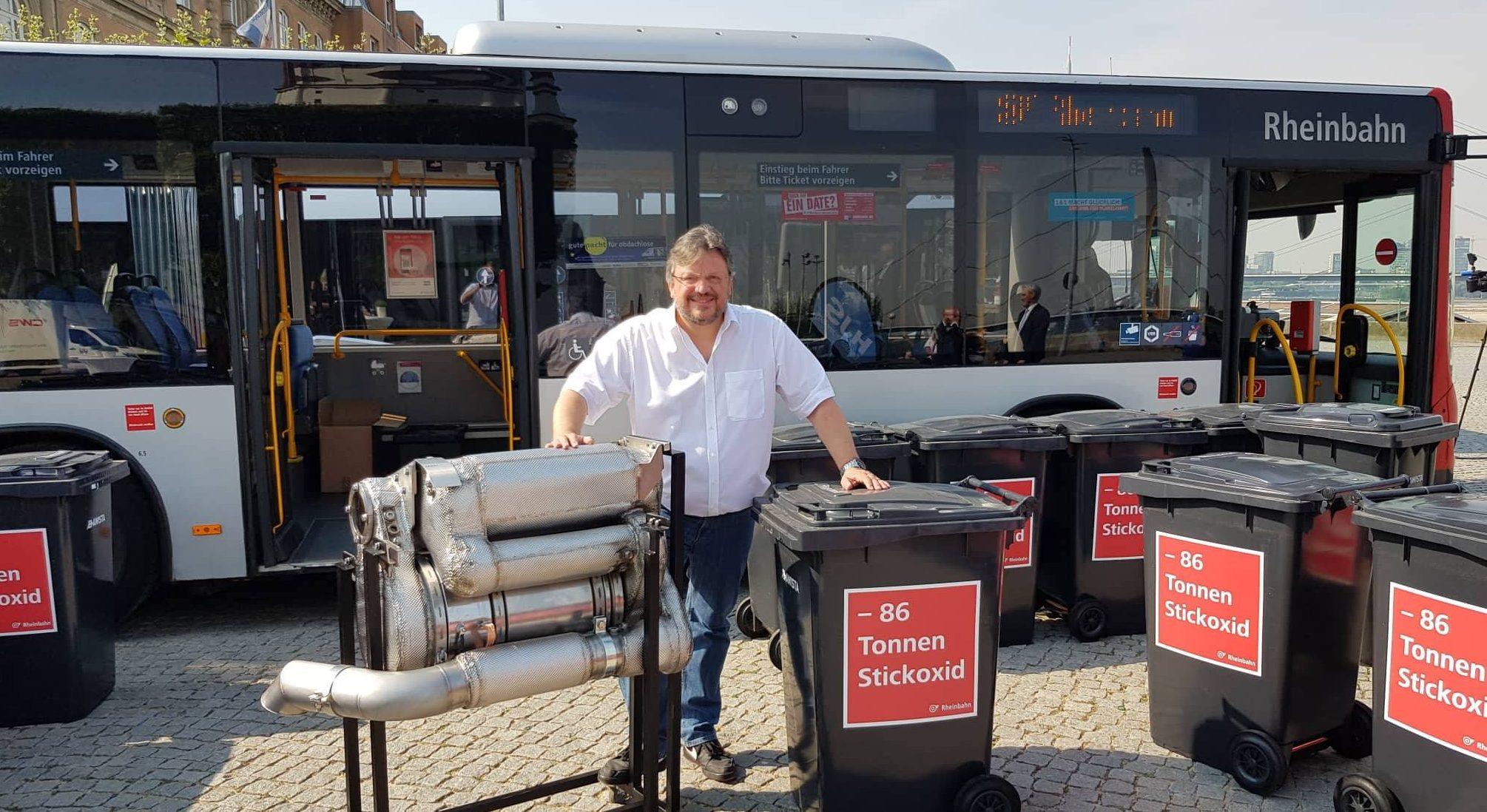 Bund fördert die zügige Umrüstung von Diesel-Bussen bei der Rheinbahn