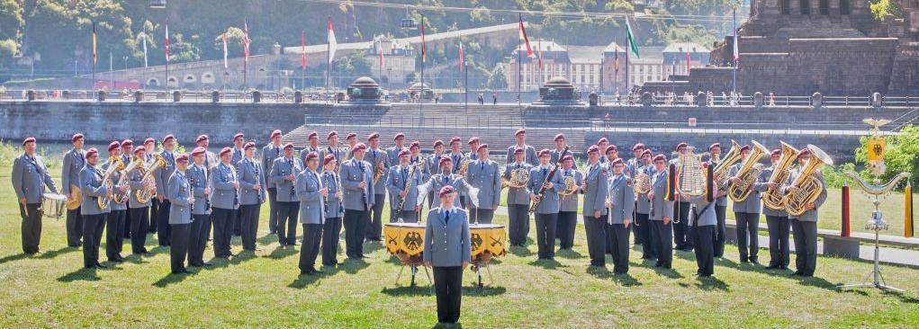 Benefizkonzert am 30. August des Heeresmusikkorps Koblenz in der RheinterrasseDüsseldorf