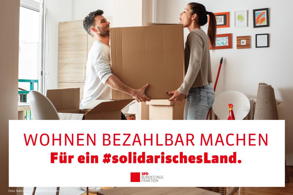 Erfolg der SPD für bezahlbares Wohnen: Bundestag beschließt Öffnung des Baukindergeldes für den Erwerb von Genossenschaftsanteilen bei Wohnungsbaugenossenschaften!