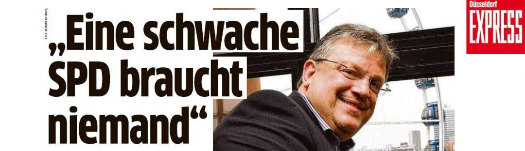 """""""Eine schwache SPD braucht niemand"""" Andreas Rimkus im Düsseldorfer EXPRESS-Interview"""
