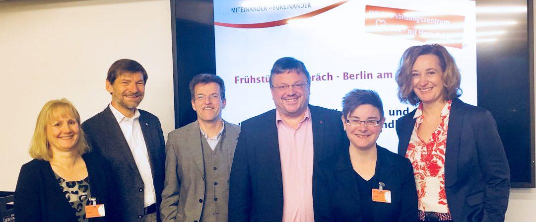 AWO Berufsbildungszentrum Düsseldorf zu Besuch in Berlin