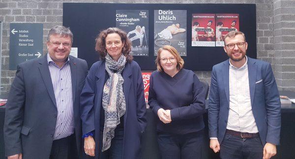 Erfolg für den Kulturstandort Düsseldorf: Bund fördert die Arbeit vom Tanzhaus NRW und dem Forum Freies Theater FFT im Bündnis internationaler Produktionshäuser mit 12 Millionen Euro
