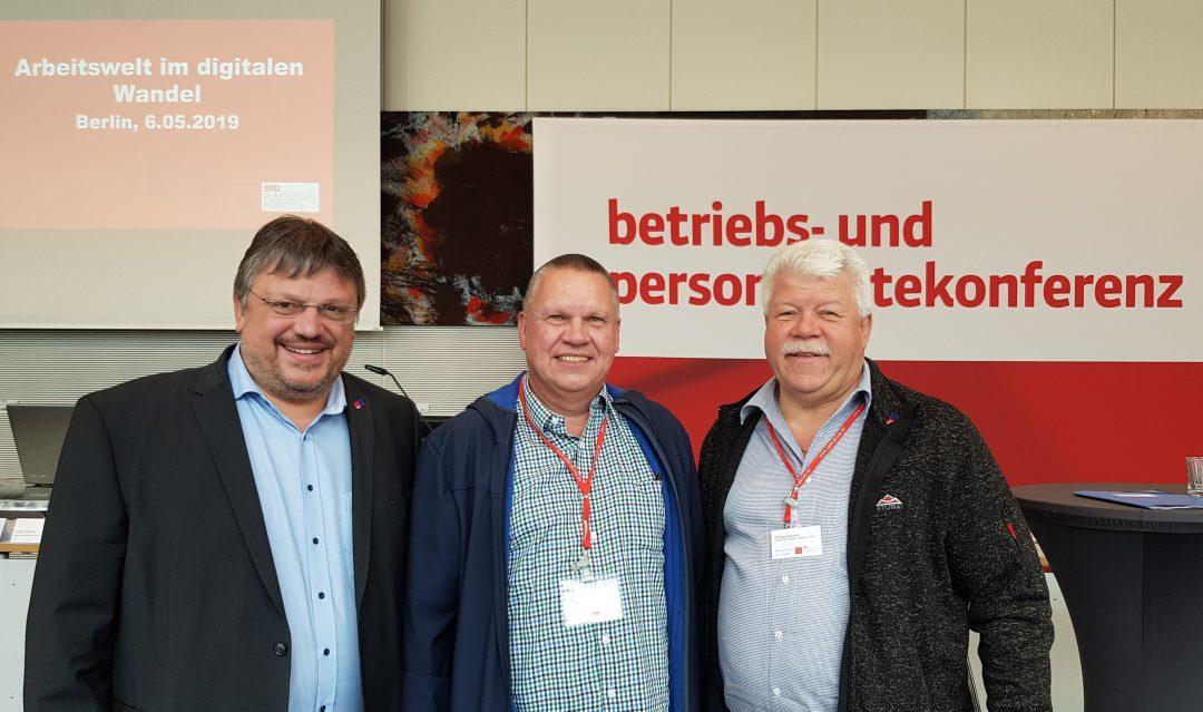 MdB Andreas Rimkus diskutiert mit Betriebsräten aus Düsseldorf über Arbeit 4.0