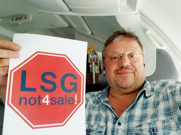 Kein Verkauf der Lufthansa-Tochter LSG Sky Chefs! - Bundesweit sind 7.000 und am Standort Düsseldorf rund 250 Arbeitsplätze bedroht