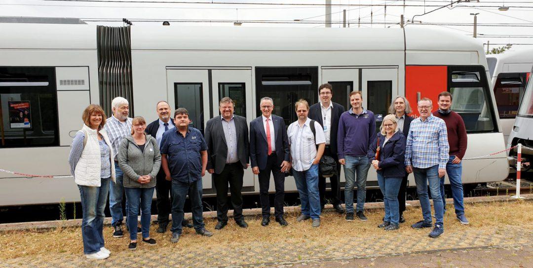 """""""Düsseldorf bewegen"""" Die Sommertour macht Station auf dem Betriebshof der Rheinbahn in Lierenfeld"""