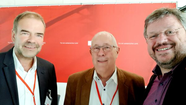 Erster Kleingartenkongress der SPD-Bundestagsfraktion: Andreas Rimkus trifft Kleingärtner aus Düsseldorf