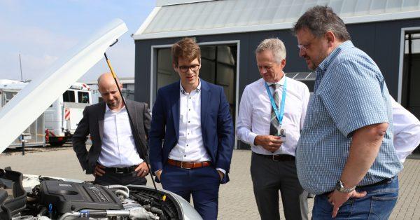 Andreas Rimkus unterwegs: Fahrzeugentwicklung für die Mobilität von Morgen