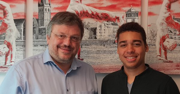 Jugendpressetage 2019 in Berlin: Dorian Drews zu Gast bei Andreas Rimkus