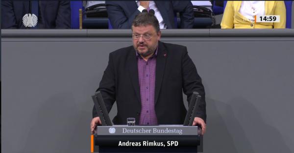 Rede Andreas Rimkus im Bundestag: Wiedereinführung der Meisterpflicht in 12 derzeit zulassungsfreien Handwerken
