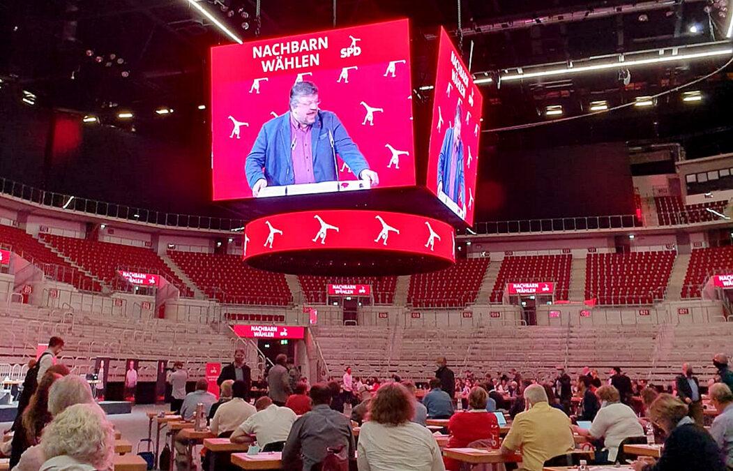 Vertreter*innenversammlung der SPD Düsseldorf zur Kommunalwahl 2020