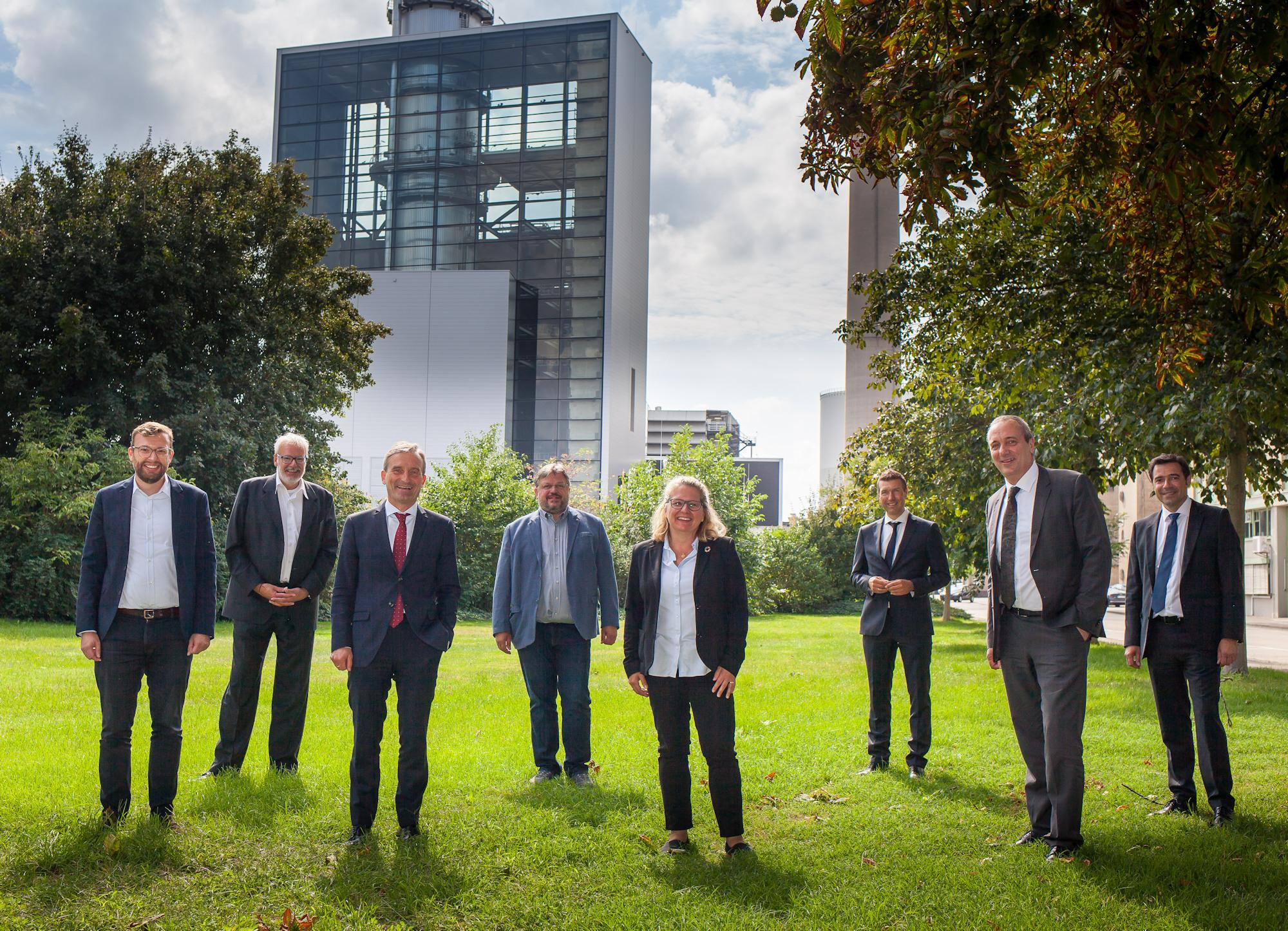 Bundesumweltministerin zu Besuch in Düsseldorf: Svenja Schulze informierte sich über Düsseldorfer Klimaschutzmaßnahmen und ein Projekt zu umweltfreundlichen Lieferverkehren in der Innenstadt