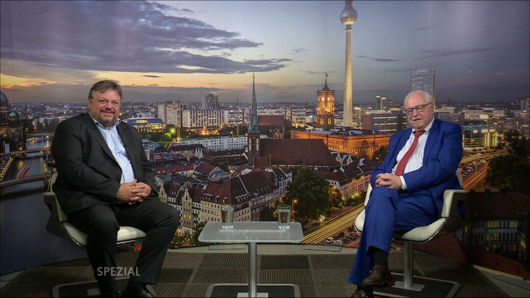Andreas Rimkus im Interview mit tv.berlin