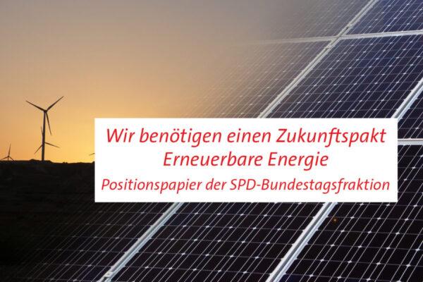 Zukunftspakt Erneuerbare Energie
