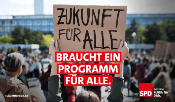 Zukunftsprogramm der SPD