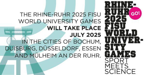 Die FISU World University Games - die Sommer-Universiade 2025 - findet auch in Düsseldorf statt
