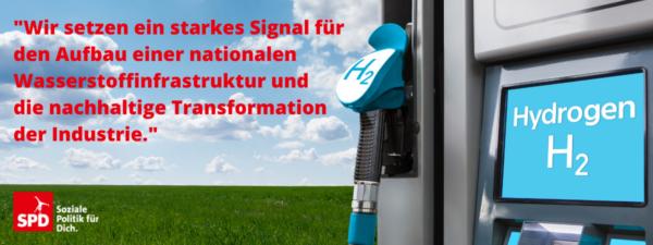 Startschuss für die Wasserstoffinfrastruktur
