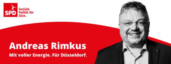 Düsseldorfer Kompetenz für den Bundestag. Am 26.09. Andreas Rimkus und SPD wählen!